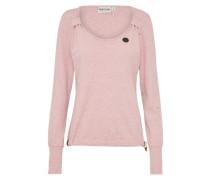 Sweatshirt 'Big Dudelsack Flavour' pink