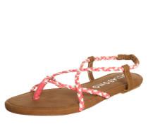 Sandale 'Salsa' rot / weiß