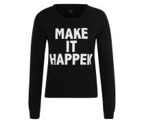 Sweater 'Onlsound' schwarz