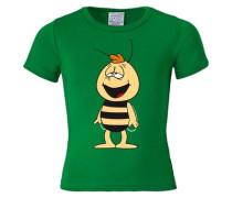 T-Shirt 'Biene Maja - Willi' grün