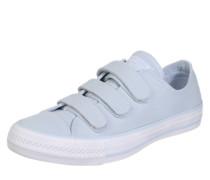 Sneakers mit Klettverschlüssen hellblau