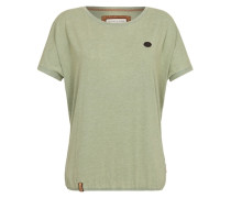 Oversized Shirt 'Acid Girl IV' grün