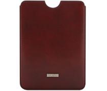 Slg Story Line Mini iPad Case Leder 157 cm dunkelrot