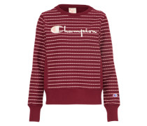 Sweatshirt 'Crewneck' bordeaux