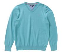 Pullover für Jungen türkis