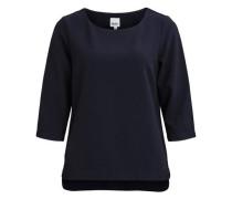 3/4-ärmelige Bluse nachtblau