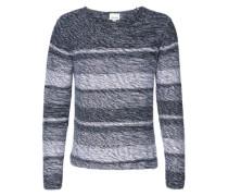 Pullover 'Mixed knit' navy