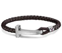 Armband »Men's Casual 2700869« dunkelbraun / silber