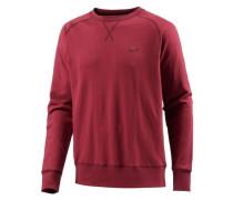 Sweatshirt Herren rot