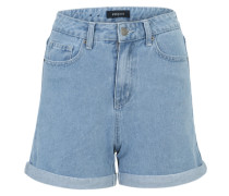 Jeansshorts 'Pcanna' blue denim