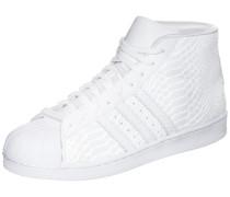 Superstar Pro Model Sneaker weiß
