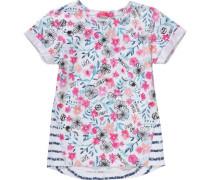 T-Shirt Kalea für Mädchen hellblau / dunkelblau / pink / rosa / weiß