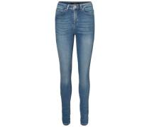Skinny Fit Jeans 'Nine HW' blau