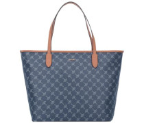 Cortina Lara Shopper blau