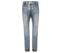 Barrel Sweat Jeans Herren blau