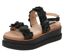 Sandalen 'virginia' schwarz