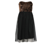 Cocktailkleid 'onlCONFIDENCE' bronze / schwarz