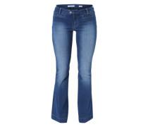 Boot Cut Jeans 'Pia' blau