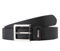 Leder-Gürtel 'Mino Belt 3' schwarz