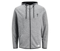 Sweatshirt Urbanes grau / schwarz