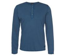 Longsleeve 'Llanarthne' blau