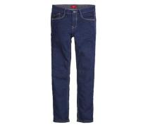 Seattle Slim: Warme Stretch-Jeans blau