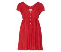 Bluse mit Print rot