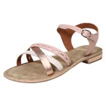 Sandale 'Carla' bronze / rosé / silber