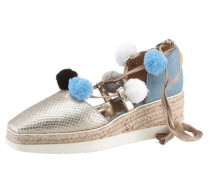 Espadrille blue denim / platin
