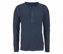 Henleyshirt 'pepper' dunkelblau