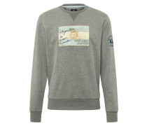 Sweatshirt 'quintino' grau