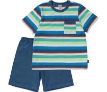 Schlafanzug für Jungen mischfarben