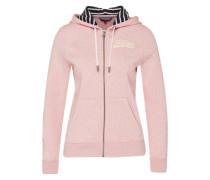 Sweatjacke 'Olympia' pink