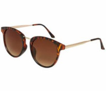Classic Sonnenbrille braun / gold