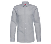 Extra Slim Fit Hemd 'Elisha01' grau