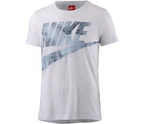 'Glacier' T-Shirt Damen blau / hellblau / hellgrau