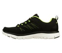 Sneakers 'Flex Advantage' neongelb / schwarz