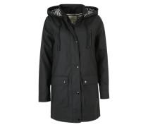 Regenjacke 'Cozy' schwarz