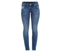 Slim Fit Jeans 'Cloe' blau