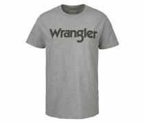 T-Shirt anthrazit / graumeliert