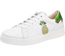 Sneakers gelb / grün / weiß