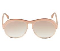 Sonnenbrille 'burnout' rosé