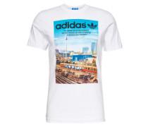 T-Shirt 'spree Vollgas' weiß