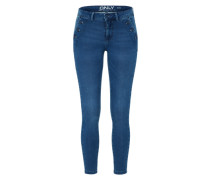 'Royal' Jeggings blue denim