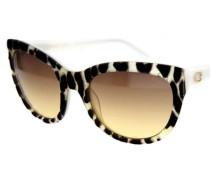 Sonnenbrille Gu7429-25F schwarz / transparent