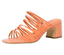 Pantolette orange