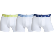 Boxer CR7 Basic Trunk 3-pack weiß