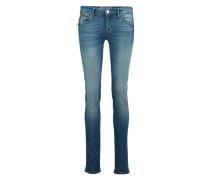 Schmale Blue Jeans 'Serena' blau