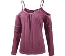Langarmshirt Damen lila / pink