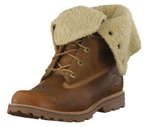 Boots 'Authentics Waterproof Shearling 50719' beige / kastanienbraun